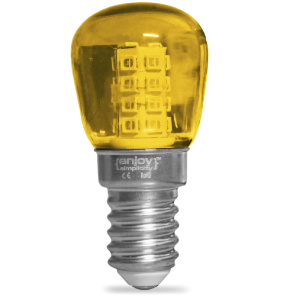 EL775111 | LED T23 ΝΥΚΤΟΣ|2W Ε14|KITΡΙNO|γυαλ|enjoySimplicity™