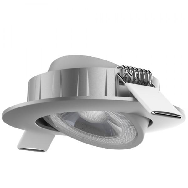 EL191634 | LED DownLight silver Φ80x24.6mm|4W|4000k|350lm|36°|enjoySimplicity™