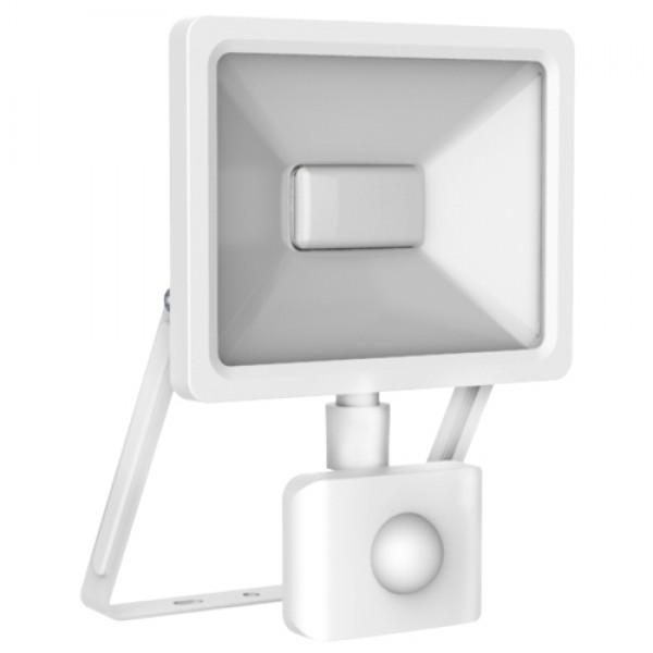 EL198202 | LED Sensor FloodLight white IP65/IP44 L130xW199xH26mm|20W|3000k|