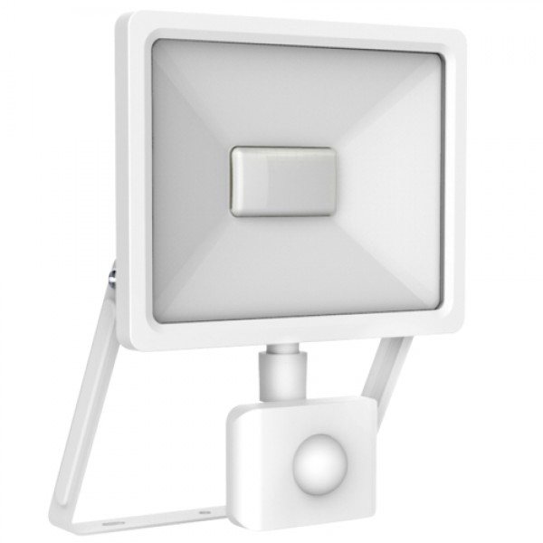 LED Sensor FloodLight white IP65/IP44 L150xW220xH26mm|30W|3000k|