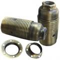 EL314934 | Vintage Iron lampholder E14 2rings Gold bronze shinny