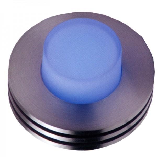 5885 | LED ΕΠΙΤΟΙΧΟ Φ80mm ΣΤΡΟΓΓΥΛΟ ΑΛΟΥΜ.